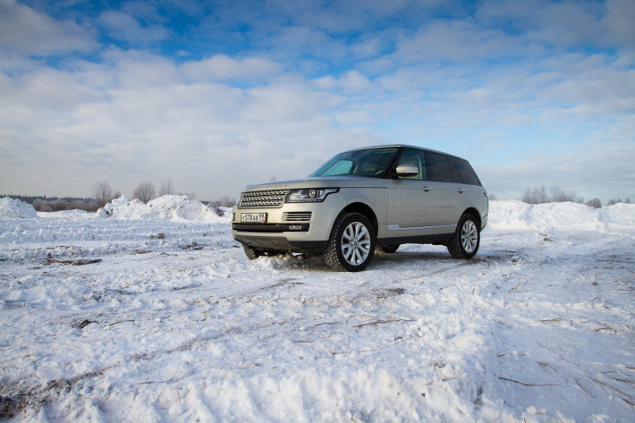 Синтез антиподов.  Range Rover Vogue Supercharged.