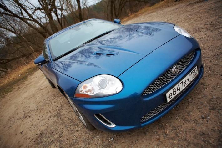Укрощение строптивого. Jaguar XKR.