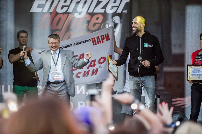 Станцевали рекорд. Energizer Dance Day.