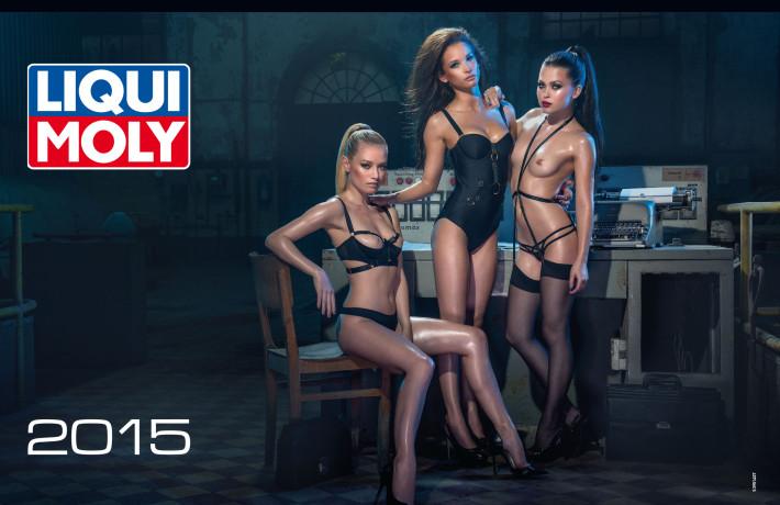 Эротический календарь LIQUI MOLY на 2015 год (18+)