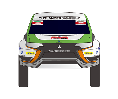 Новая модель Outlander PHEV примет участие  в Asia Cross-Country Rally – 2015