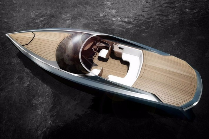 Грести и отгребать. Лодка Aston Martin AM37 Powerboat.
