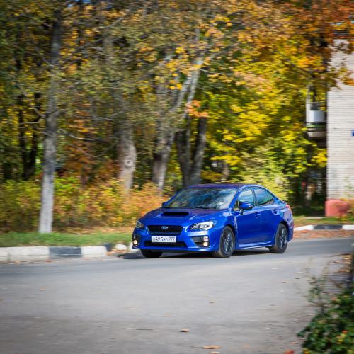 Принцип разумной достаточности. Subaru WRX.