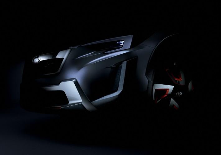 Subaru намекнула, как будет выглядеть будущий XV.