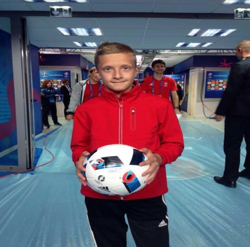 «Юный арбитр KIA» исполнил свою мечту на Euro-2016