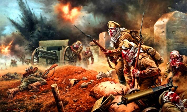Атака мертвецов. Русские не сдаются.