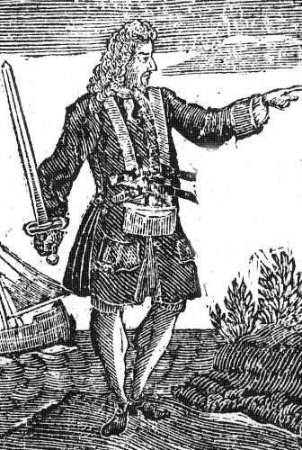 Чарльз Вейн. Не самый везучий пират.
