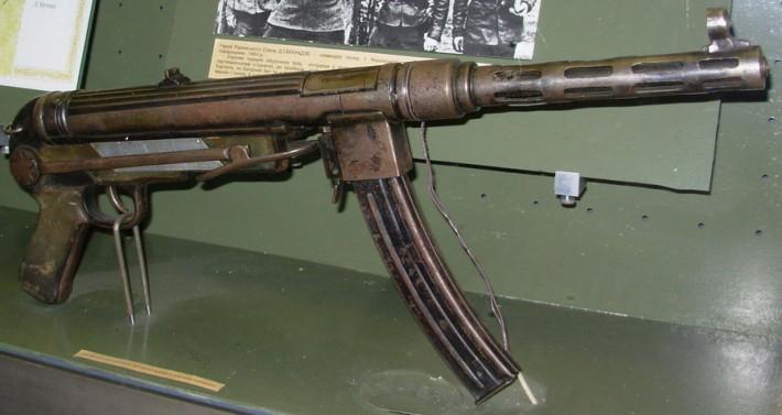 Урождённый партизан. Автомат Темякова – Менкина ТМ-44.