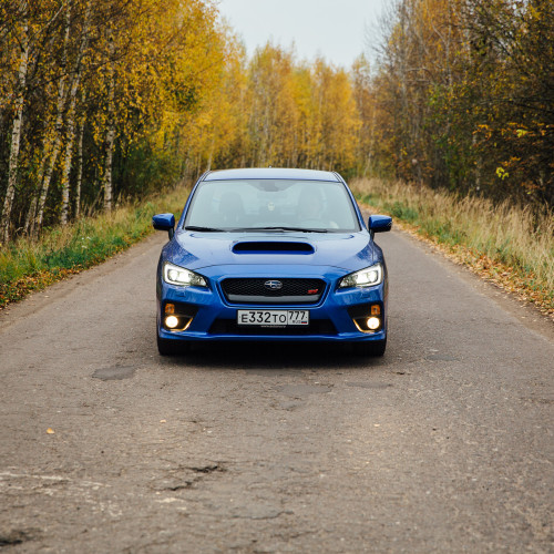 Всемогущий. Subaru WRX STI.