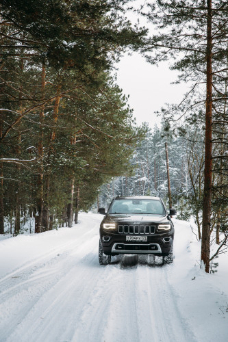 Больше, чем просто джип. Jeep Grand Cherokee Overland.