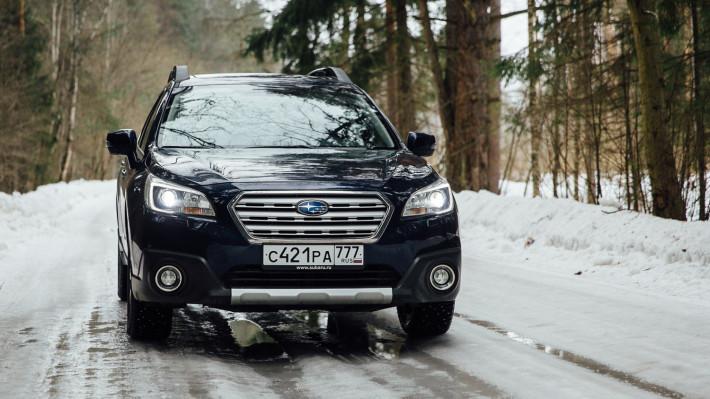 Король просёлков. Subaru Outback 3.6.