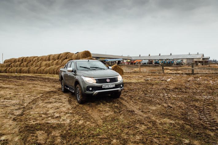 FIAT Fullback. Для большого и малого хозяйства.