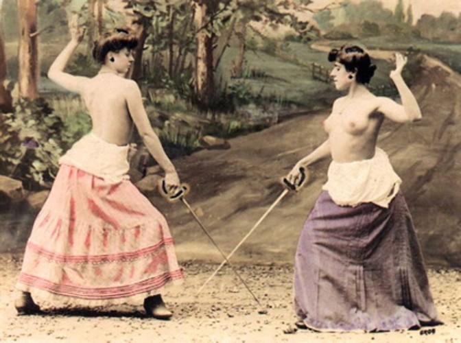 Женские дуэли. Кошачьи драки или благородные поединки?
