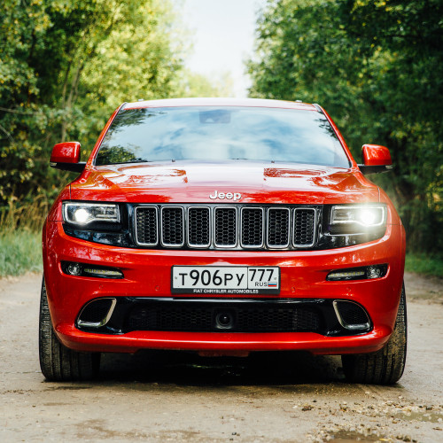 Тень грома. Jeep Grand Cherokee SRT.