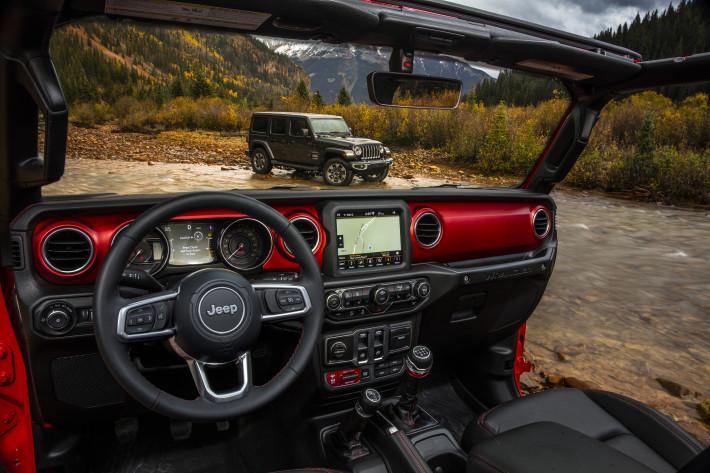 Jeep® Wrangler нового поколения стал еще лучше
