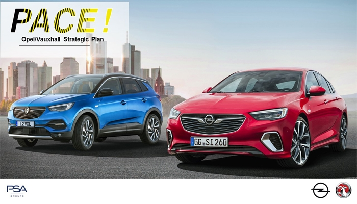 План «PACE!» сделает Opel/Vauxhall прибыльной глобальной компанией