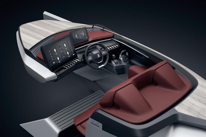 Beneteau Peugeot Sea Drive Concept 004