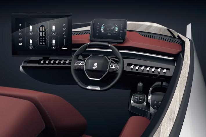 Beneteau Peugeot Sea Drive Concept 005