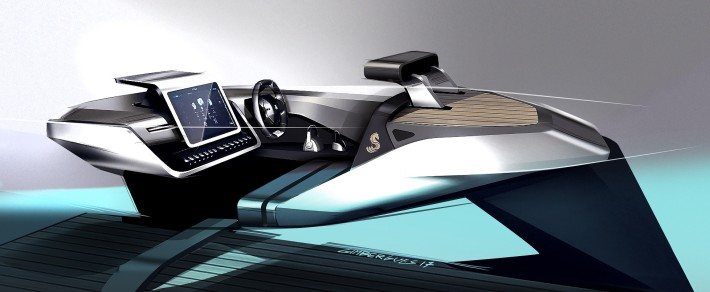 Beneteau Peugeot Sea Drive Concept Research Sketches 007