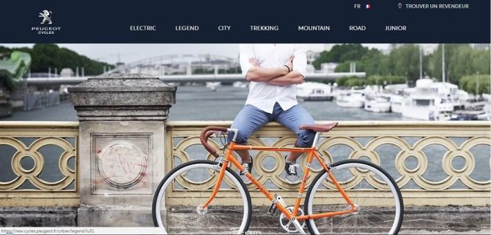 PEUGEOT Cycles запускает новый веб-сайт
