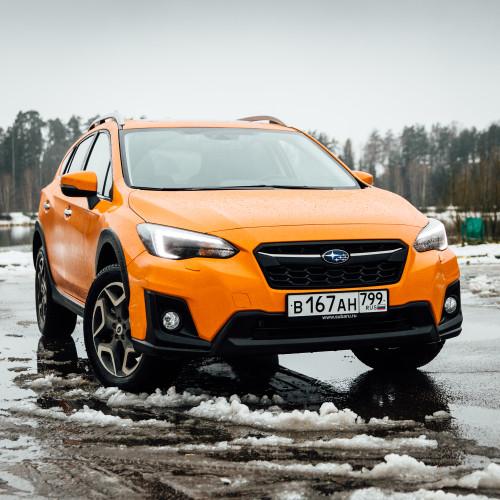 Иной. Новый Subaru XV.