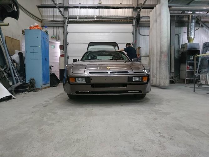 Вернуть былую юность. Коротко о реставрации  Porsche 944.