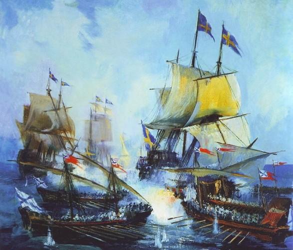 Без шанса «Ниеншанцу». Как русские дали морской бой, не имея флота!