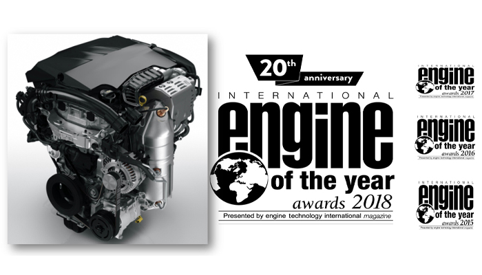 Турбированный бензиновый двигатель PureTech Группы PSA награжден титулом «Двигатель 2018 года»