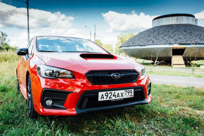 Полуавтомат. Subaru WRX с вариатором.